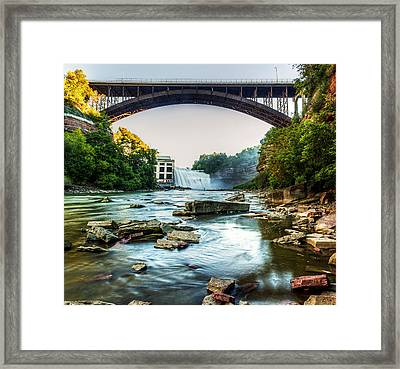 Genesee River Framed Print by Tim Buisman