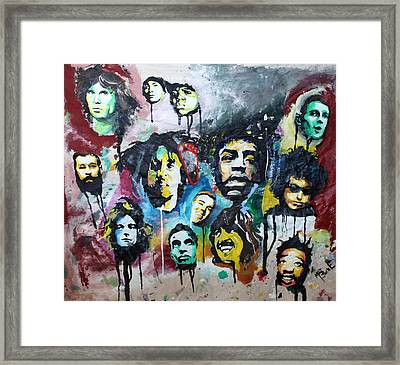 Genre Greats Framed Print by Matt Burke