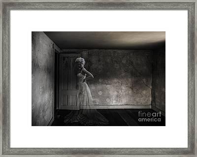 Ghost Bride Framed Print by Diane Diederich