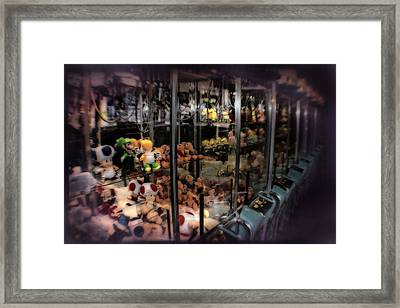 Ghosts Of The Arcades - The Toys Come Out At Night To Play Framed Print by Doc Braham
