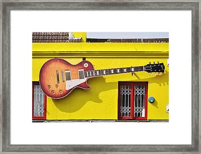 Giant Gibson Les Paul Framed Print by Dutourdumonde Photography