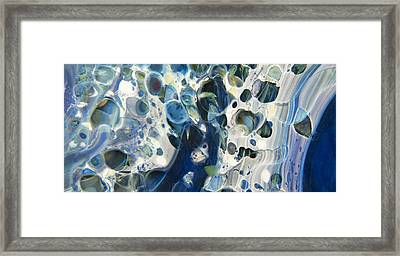 Glacial 2 Framed Print by Jubilant  Art