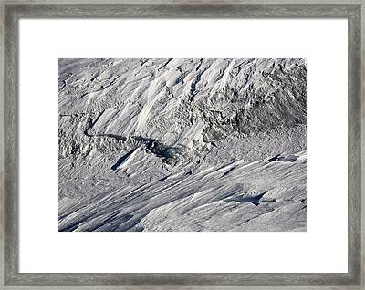 Glacier Framed Print by Frank Tschakert