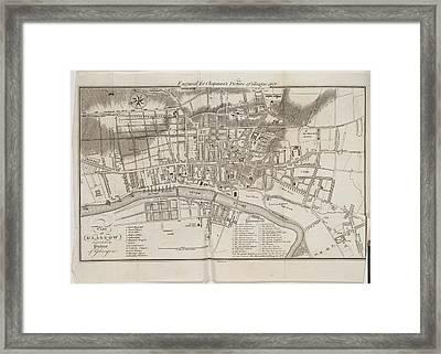 Glasgow Framed Print by British Library