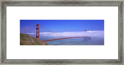 Golden Gate Bridge, California, Usa Framed Print by Panoramic Images