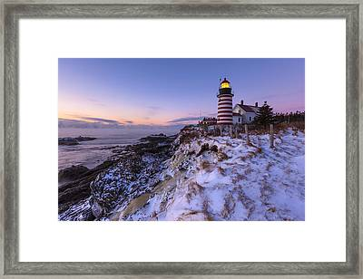 Good Morning America Framed Print by Patrick Downey
