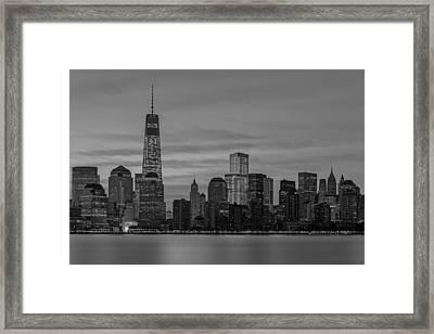 Good Morning New York City Framed Print by Susan Candelario