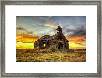 Govan Schoolhouse Framed Print by Michael Gass