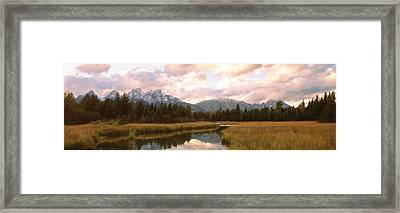 Grand Teton National Park Wy Usa Framed Print by Panoramic Images