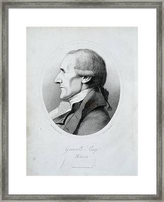 Granville Sharp Framed Print by British Library