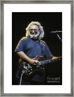 Grateful Dead - Uncle Jerry Framed Print by Concert Photos