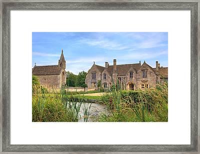 Great Chalfield Manor Framed Print by Joana Kruse