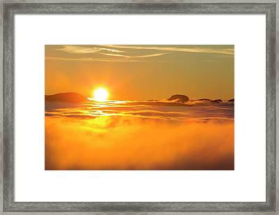 Great Gable From Red Screes Framed Print by Ashley Cooper
