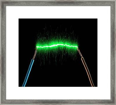 Green Energy Framed Print by Victor De Schwanberg