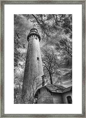 Grosse Point Lighthouse Framed Print by Scott Norris