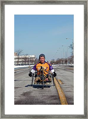 Handcycle Framed Print by Jim West