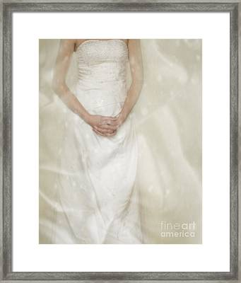 Hands Clasped Framed Print by Amanda And Christopher Elwell