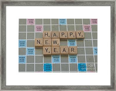 Happy New Year Framed Print by Juli Scalzi