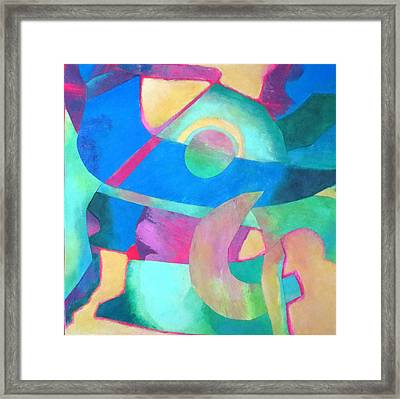 Harmony In G Framed Print by Diane Fine