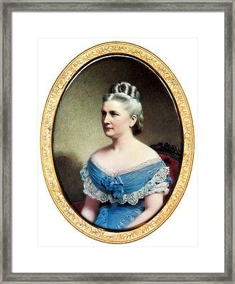Harriet Lane, First Lady Framed Print by Science Source