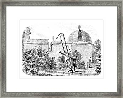 Hartwell Observatory Framed Print by Royal Astronomical Society