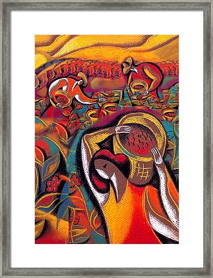 Harvest 2 Framed Print by Leon Zernitsky