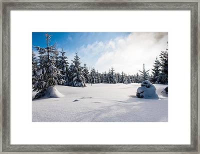 Harz Witches' Trail Framed Print by Andreas Levi