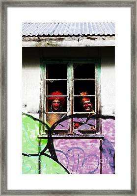 Haunted House Of Horrors Framed Print by Jorgo Photography - Wall Art Gallery