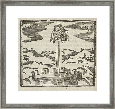 Head Of Guy Fawkes Framed Print by British Library