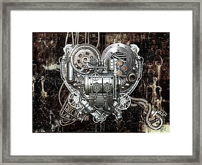 Heart Framed Print by Diuno Ashlee