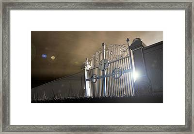 Heavens Open Gates Framed Print by Allan Swart