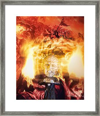 Hellraiser Framed Print by Rafael  Pacheco