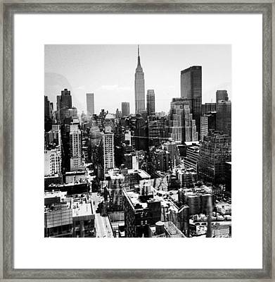 Hell's Kitchen Framed Print by CD Kirven