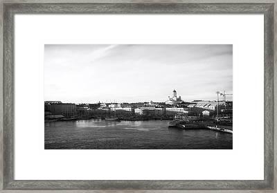 Helsinki Harbor Framed Print by Mountain Dreams