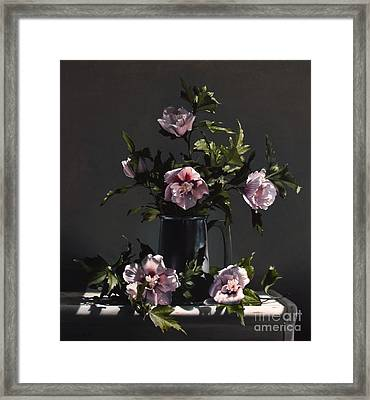 Hibiscus Framed Print by Larry Preston