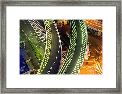 Highway Framed Print by Fototrav Print