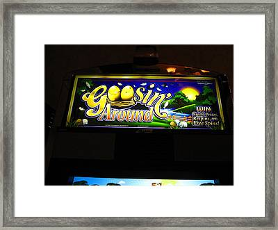Hollywood Casino At Charles Town Races - 12125 Framed Print by DC Photographer