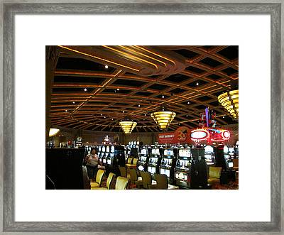 Hollywood Casino At Charles Town Races - 12127 Framed Print by DC Photographer