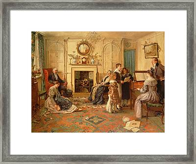Home Sweet Home Framed Print by Walter Dendy Sadler
