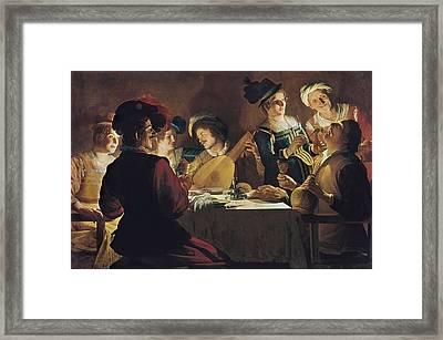 Honthorst, Gerrit Van, Also Called Framed Print by Everett