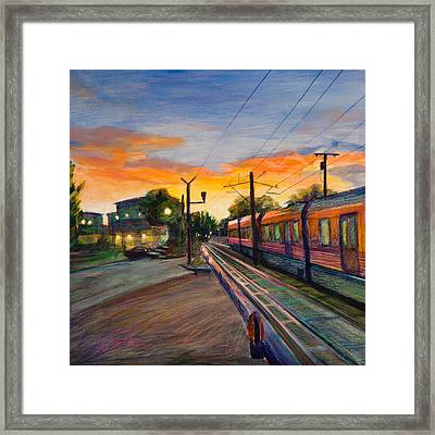 Hope Crossing Framed Print by Athena Mantle