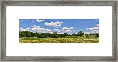 Hopewell Culture National Historical Park Framed Print by Brian Mollenkopf