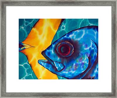 Horse -eyed Jack Framed Print by Daniel Jean-Baptiste