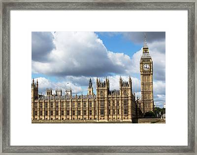 Houses Of Parliament Framed Print by Mark Thomas