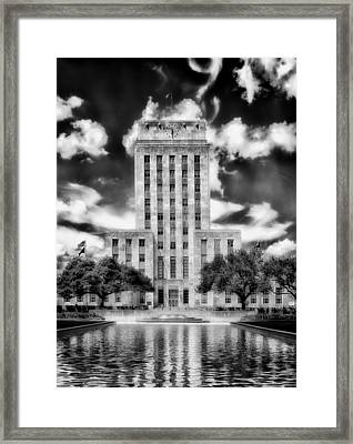 Houston's City Hall Framed Print by Mountain Dreams