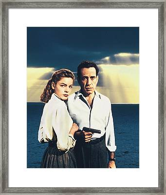 Humphrey Bogart Framed Print by Silver Screen