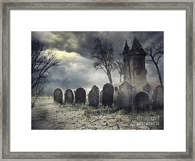 Hunted House Framed Print by Jelena Jovanovic