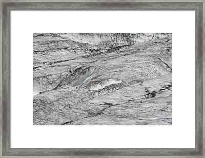 hvannadalshnjukur Iceland Framed Print by Ronald Jansen