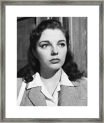 I Believe In You, Joan Collins, 1952 Framed Print by Everett