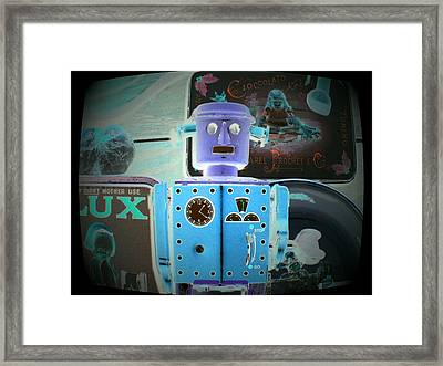 I Did Not Want To Become A Robot Framed Print by Donatella Muggianu